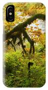 Moss In The Forest IPhone Case
