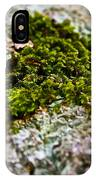Moss In The Middle IPhone Case