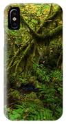 Moss In The Rainforest IPhone Case