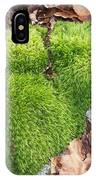 Moss On A Rock IPhone Case
