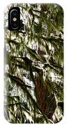 Moss On Trees IPhone Case
