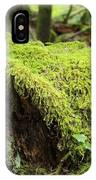 Mossy Old Stump IPhone Case