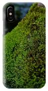 Mossy River Rock IPhone Case