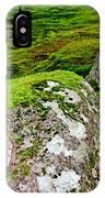 Mossy Rock Garden IPhone Case