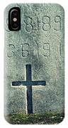 Mossy Tomb IPhone Case