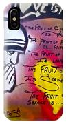 Mother Theresa Fruits IPhone Case