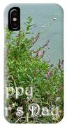 Mother's Day - Wildflowers By The Pond IPhone Case