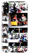 Motorbike Watching On Ubud Streets   IPhone Case