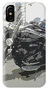 Motorcycle Ride - Three IPhone Case