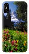 Mount Assiniboine IPhone Case