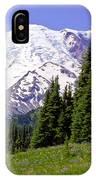Mount Rainier X IPhone Case
