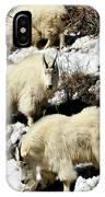 Mountain Goat Trio IPhone Case