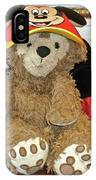 Mouseketeer Bear IPhone Case
