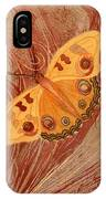 Movement Butterfly IPhone Case