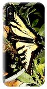 Moveonart Yellowbutterflyfriend IPhone Case