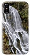 Mt Hood Cascade IPhone Case