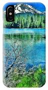 Mt Lassen IPhone Case