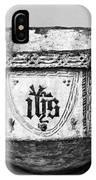 Mudejar Baptismal Font IPhone Case