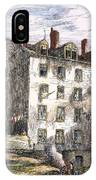 Mulberry Street, Nyc, 1873 IPhone Case