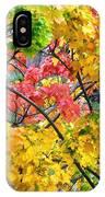 Multicolored Maple IPhone Case