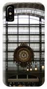 Musee D'orsay's Clock IPhone Case