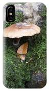 Mushroom In Moss IPhone Case