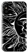 Musical Sunrise - Inverted IPhone Case