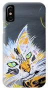 My Calico Cat Wizard IPhone Case