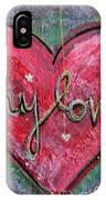 My Love Heart IPhone Case