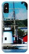 Mystic Seaport Ct IPhone Case