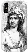Nancy Storace (1765-1817) IPhone Case