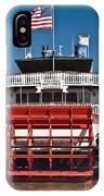 Natchez Riverboat IPhone Case