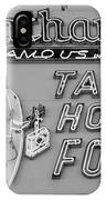 Nathan's Famous In Black And White IPhone Case