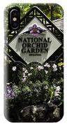 National Orchid Garden Inside The Singapore Botanic Garden IPhone Case