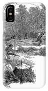 Native American Attack, C1640 IPhone Case