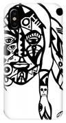 Native Man IPhone Case