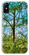 Nature's Church Windows  IPhone Case