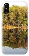 Natures Reflection Guatemala IPhone Case
