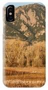 Ncar And Flatiron View Boulder Colorado   IPhone Case