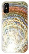Neon Lights Spinning IPhone Case