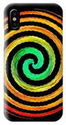 Neon Spiral IPhone Case