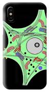 Nerve Cell Anatomy, Artwork IPhone Case