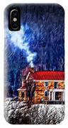Nestled In For The Winter IPhone Case