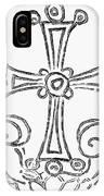 Nestorian Cross, 781 A.d IPhone Case