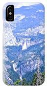 Nevada And Vernal Falls IPhone Case