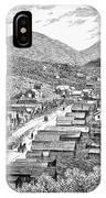 Nevada: Austin, C1880 IPhone Case