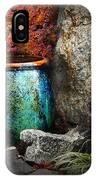 Nevada City Fountain IPhone Case