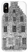New Amsterdam: House, 1626 IPhone Case