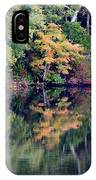 New England Fall Reflection IPhone Case