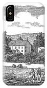 New Jersey Farm, C1810 IPhone Case
